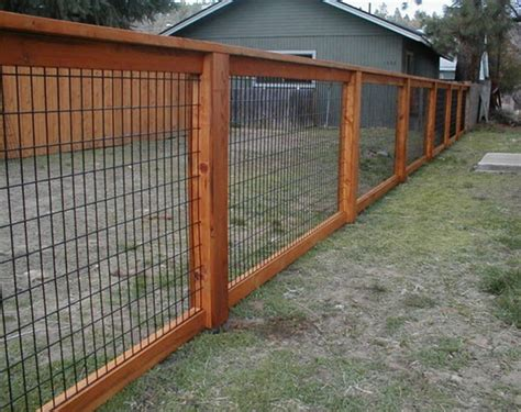 building a backyard fence image of hog panel fencing ideas fences pinterest