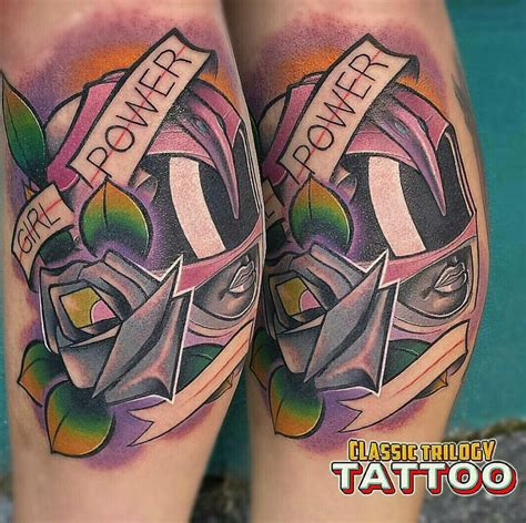 power rangers tattoo classic trilogy tattoos 23 photos piercing 2215