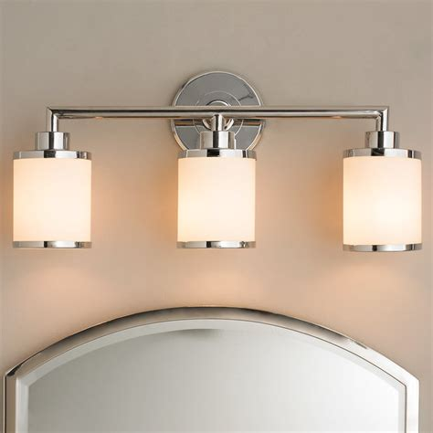 Bathroom Vanity Wall Lights Contemporary Bath Vanity Light 3 Light Shades Of Light