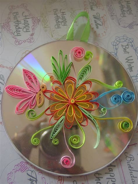 Paper Quilling Craft - quilling quilled flowers paper craft greeting cards