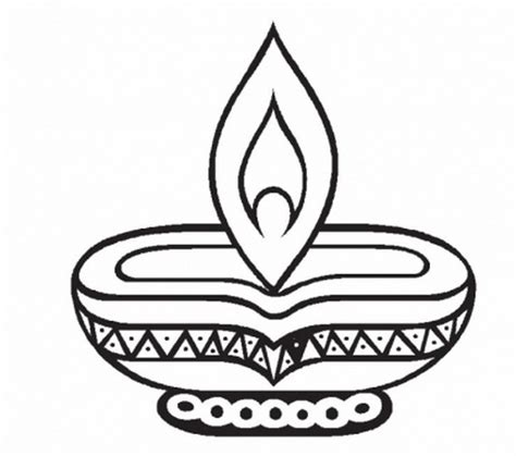 Diwali Coloring Page free coloring pages of diwali cards