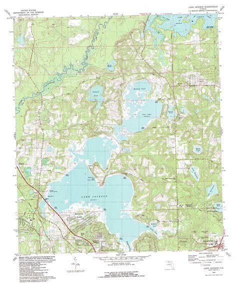 where is lake jackson on map lake jackson topographic map fl usgs topo 30084e3