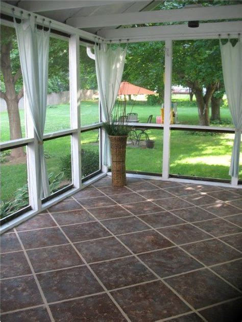 screened porch makeover rough concrete floor 1000 ideas about lanai decorating on pinterest florida