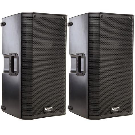 Speaker Qsc qsc k12 12 in 2 way powered pa speaker pair pssl