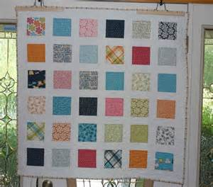 you to see charm square quilt on craftsy