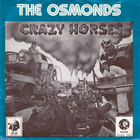 The Osmonds Horses Dvd 45cat the osmonds horses that s my mgm