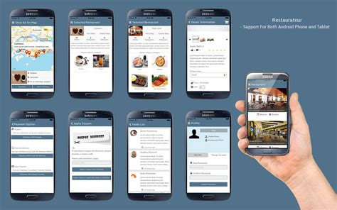 restaurant menu layout apps restaurateur solution for any restaurants app by panacea