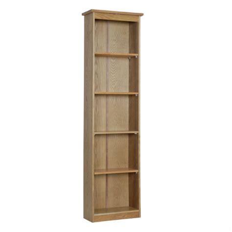 Thin Shelf Winchester Painted 4 Shelf Narrow Bookcase Go Furniture