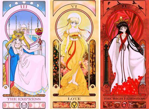 Hochzeitstorte Jugendstil by 超美 美少女戰士塔羅牌 猜猜哪位戰士符合哪張牌