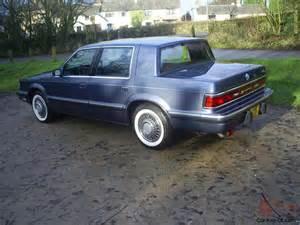 1990 Chrysler Dynasty 1990 Dodge Dynasty Le 3 3