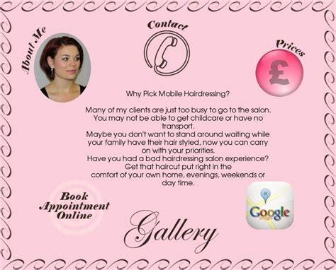 Mobile Hair Dressers by Jen4hair Mobile Hairdressing
