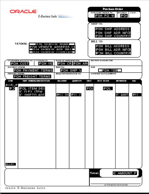 oracle layout template creating a pdf template