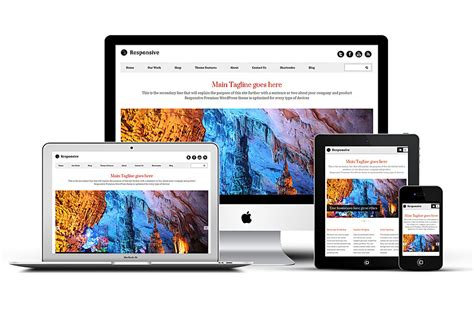 theme wordpress video responsive responsive wordpress portfolio theme woocommerce support