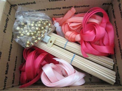 Wedding Bell Ribbon Wands by Diy Wedding Wand Ribbon Wands Custom Colors 100 Wands