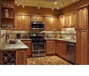 Amazon Kitchen Furniture by Amazon Com All Wood 10x10 Kitchen Cabinets Maple Honey