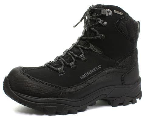 merrell winter boots mens merrell norsehund omega waterproof mens hiking winter