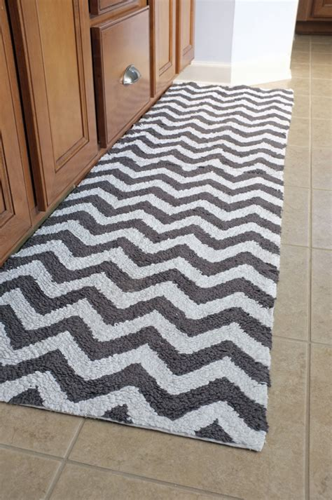 Chevron Runner Rug Bathroom Runner Rugs Chevron Bath Mat Runner In Home Designs
