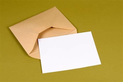 Envelope Letter Paper envelope with blank letter photo free