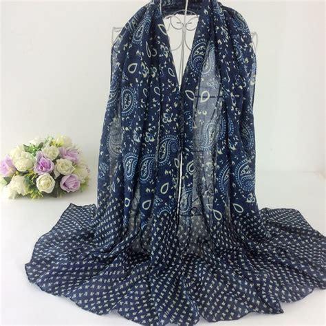 Pashmina Rawis Pasmina Rawis Viscose cotton viscose shawl cashew nut print shawl pashmina muslim scarf bandana