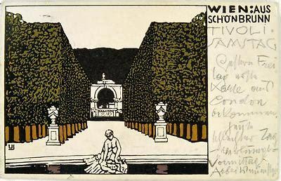 Postkarten Drucken Graz by Postkarten Nr 137 Der Wiener Werkst 228 Tte Gustav Klimt