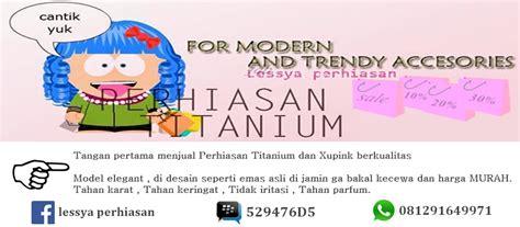 Anting Anting Titanium perhiasan titanium