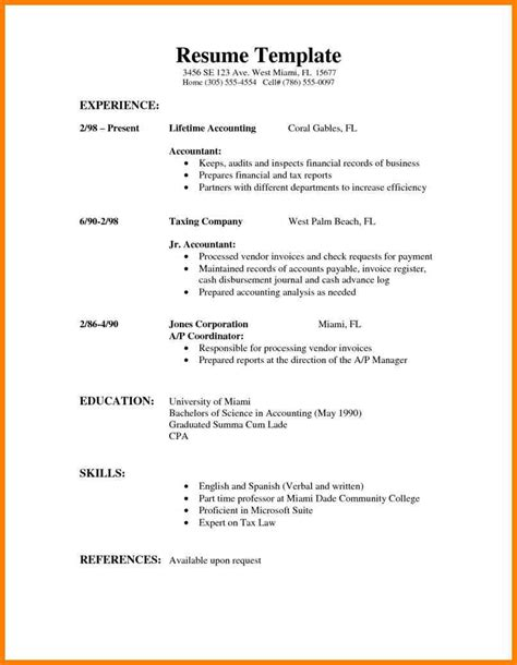 Welder Resume Template by 4 Simple Resume Sle Welder Resume