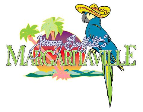 margaritaville cartoon margaritaville jimmy buffetts sombrero vinyl sticker decal