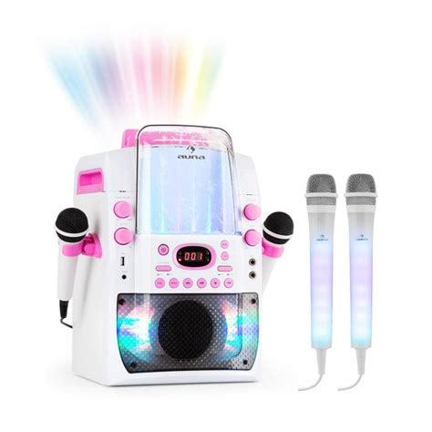 Bt Pink Set kara liquida bt pink dazzl mic set karaoke system microphone led lighting purchase