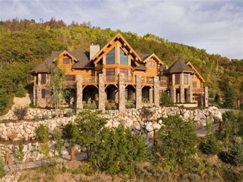 epic log cabin homes montana luxury log home interiors