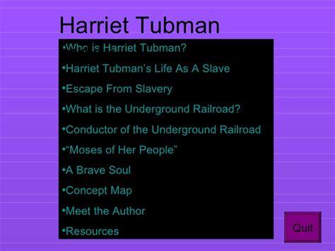 harriet tubman biography powerpoint interactive powerpoint on harriet tubman