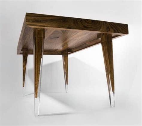 restaurant table legs ovangkol dining table from reiko kaneko