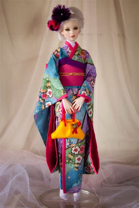 kimono pattern for barbie beautiful kimono dress for 16 quot tonner dolls dolls