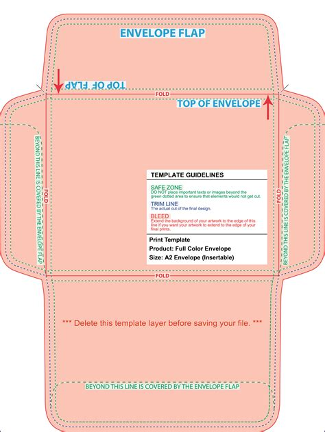 a2 card template illustrator envelope printing template envelope printing template