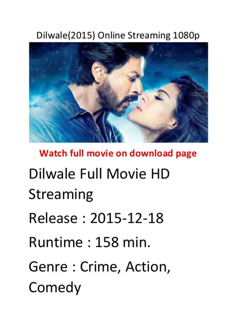 streaming film action comedy dilwale 2015 online streaming 1080p list of comedy action