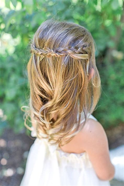 girl hairstyles for wedding 17 best images about kapsels voor kids on pinterest