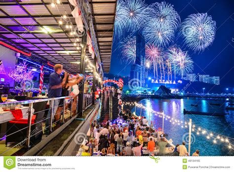 new year sale in bangkok new years celebrations in pattaya stock image image