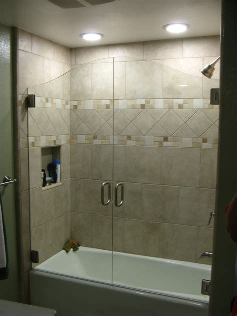 How To Install Shower Door On Tub Bathtub Enclosure Doors Bathtub Doors