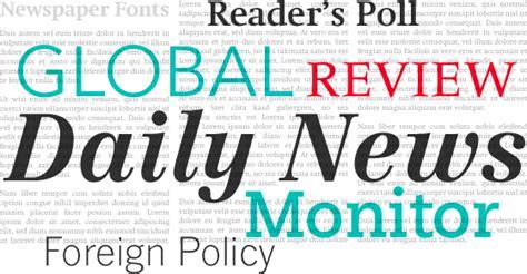 newspaper design font linotype com newspaper fonts