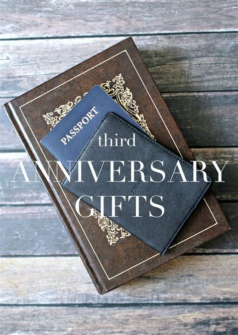 ideas 3rd anniversary gifts and gifts on pinterest