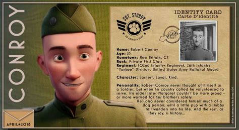 Sgt Stubby Bio Sgt Stubby An American Feature