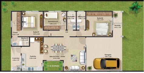 projetos de casas projeto de casa 2 suites 1 quarto c 243 d 99 s 243 projetos