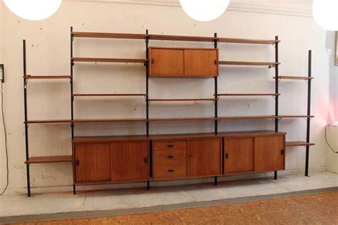 mid century modern wall shelves mid century modern wall unit shelving system pira sweden