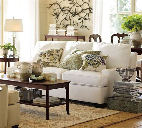 Pottery Barn Living Room Decorating Ideas | living room sofa design ideas from pottery barn homey
