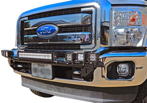 f150 light bar mount 2004 2008 f150 n fab front bumper multi mount led light