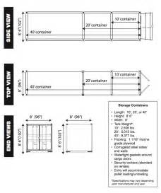Shipping Container 20 Container Inside Dimensions Submited Images