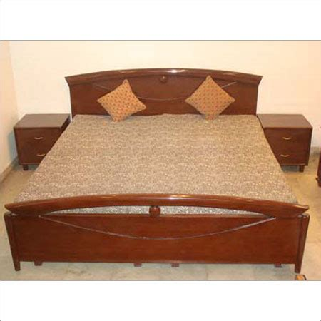 bed designs with side boxes wooden bed in punchkuian road new delhi neelam furnishers interior decorators