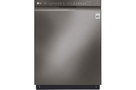 lg front dishwasher with quadwash and easyrack plus