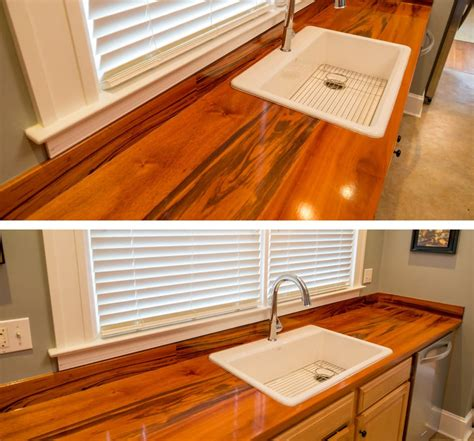 Countertops Maryland by Tigerwood Kitchen Countertop Maryland Wood Countertops