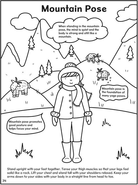 sun salutation coloring page 181 best kids yoga yogakiddos with gaileee images on