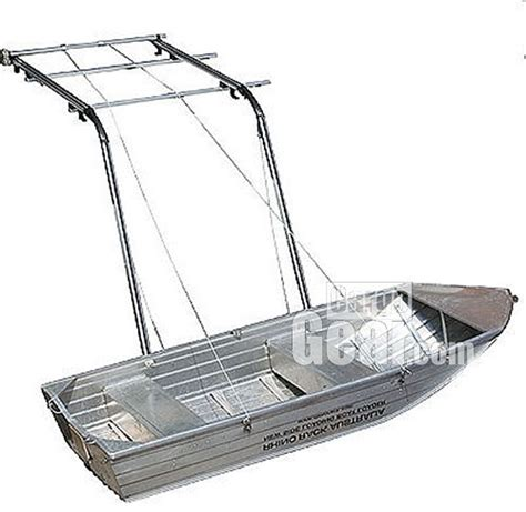 boat loader for car top rack
